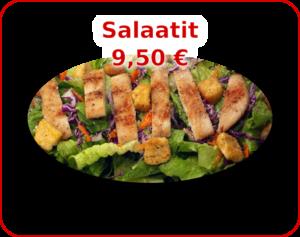 Menu - kuvalinkki Salaatit valikoimaan.